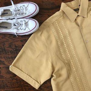 Cubavera Men's Embroidered Lounge Shirt